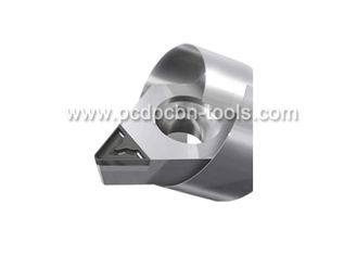 China Chipbreaker Tipped PCD Inserts / Heat Assistance Pcd Diamond Cutting Tools supplier