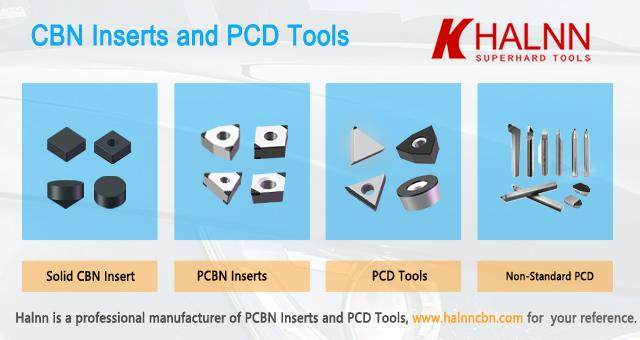 Triangle High Speed Pcbn Tools Cutting Bearing Steel Wind Power Bearings