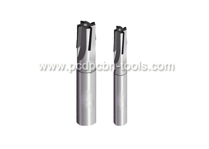 Twisted Helical PCD End Mills High Temp Assistance For