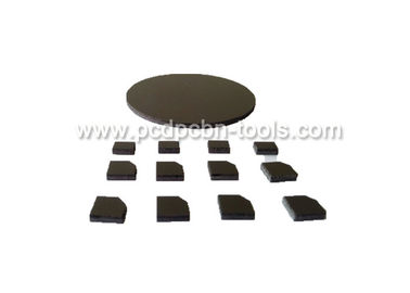 Various Size PCD Disc Diamond Tip Cutting Tools Blanks For Stone Working
