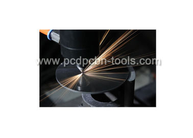 Excellent Machining Surface PCD Blanks Mirror Surface Cutting Tools ISO9001