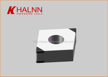 China Heavy Interrupt Cutting 42CrMo4 Bearing PCBN Inserts BN - H21 CNGA120404-4S factory